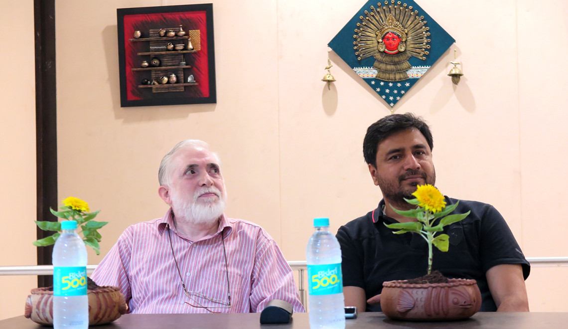 Rangbunch exhibition inauguration, Pune