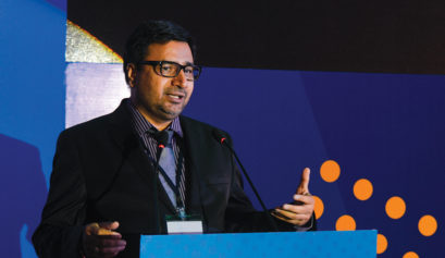 Sudhir at India's Best Design Studio Awards 2016
