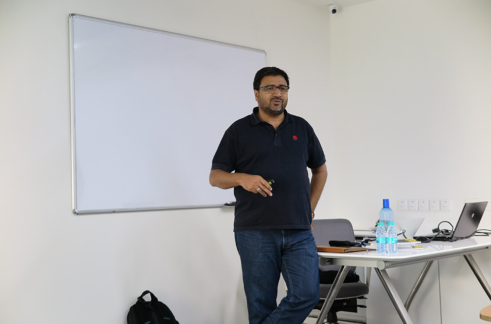 Lecture at Rohan Builders